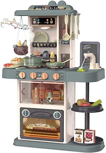 TOPQSC Jeu de cuisine pour enfants en plastique ABS avec...
