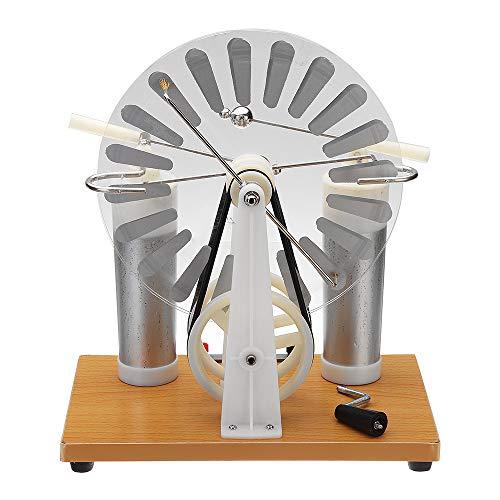 VIDOO Wimshurst Statische Maschine Physik Elektrostatische Generator Elektrische Ausrüstung Wissenschaft Bildung