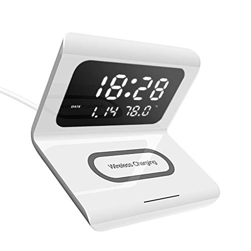 teng hong hui Reloj Despertador Digital de la Pantalla de visualización Wireless...