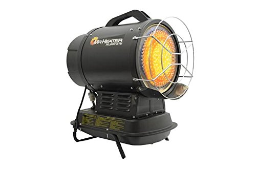 Mr. Heater 70,000 BTU Radiant Kerosene Heater with QBT, Multi