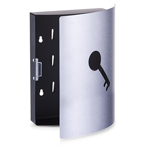 Zeller 13849 Percha de acero inoxidable 22 x 24 cm