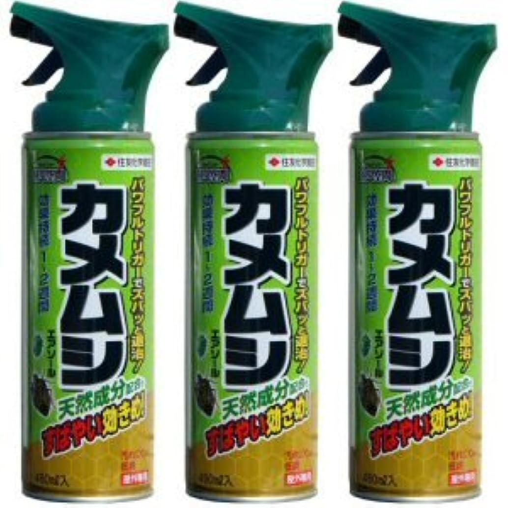 波写真ストラップ殺虫剤 カメムシエアゾール 480ml×3本セット