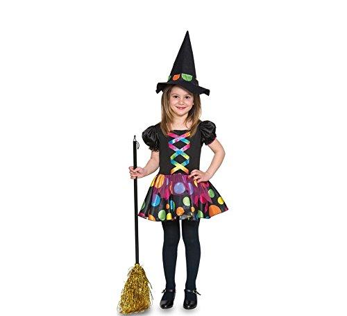 Fyasa 706372-t00pois costume da strega, piccolo