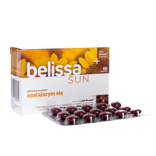 Belissa Sun x 60 Tablets Supporting The Condition of The Skin for Sunbathing