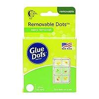 "Glue Dots .5"" Removable Dot Roll-200 Clear Dots (並行輸入品)"