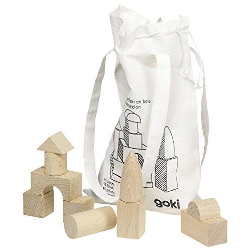 Goki - Juego de bloques para bebé , Modelos/colores Surtidos, 1 Unidad