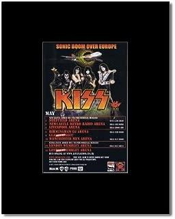 Music Ad World KISS - UK Tour 2010 Mini Poster - 13.5x10cm