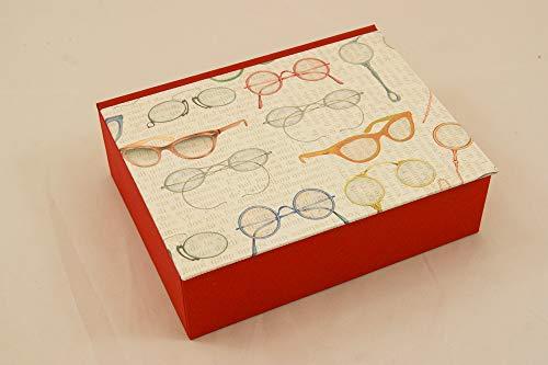 Brillenkästchen für 2 Brillen, Brillenaufbewahrung, Sortierkiste, Kästchen
