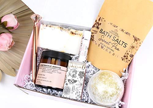 Sending Sunshine Gift - Sending You Sunshine - Sympathy Gift - Get Well Soon Gift Box - Self Care Package - Positive Vibes Gift (XWAA)