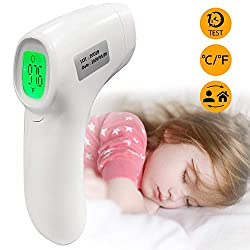 Thermometer Forehead Non-Contact IR Infrared Thermometer Digital Laser Temperaturer for Kids Adults