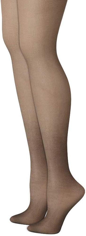 Multi Packs Silk Reflections Control Top Sandalfoot Pantyhose