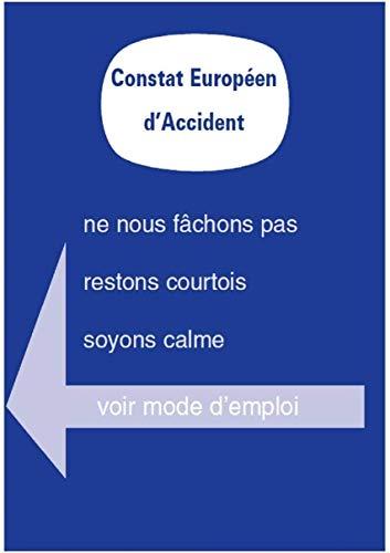 HABILL-AUTO Lot de 10 constats Amiable Accident Agréés - Tou