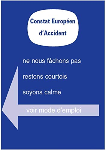 HABILL-AUTO Lot de 10 constats Amiable Accident Agréés - Toutes assurances France et Europe
