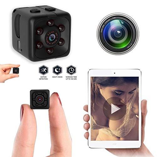Fandazzie SQ11 Negro HD Fotografía Cámara de visión Nocturna para Deportes 1280 x 960 Cámaras Digitales