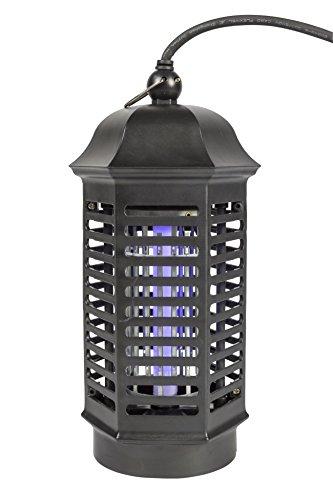 Eurosell - Trappola per Insetti, 4 W, UV-A, Eco – 30 m2 Lanterna Design – Occhiello per Appendere Insetti