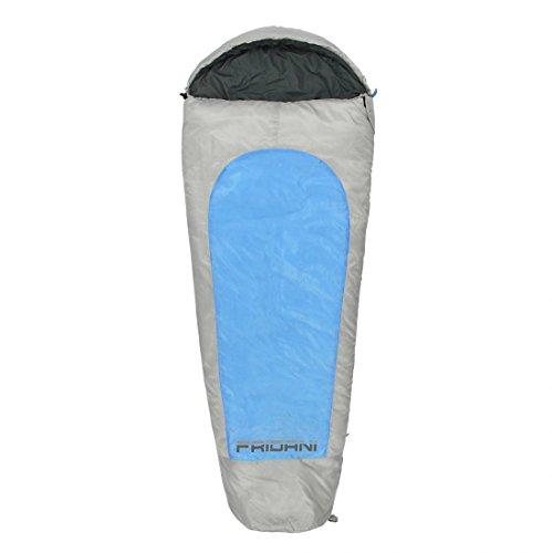 FRIDANI Mo 175 K Short – Mummy Sac de Couchage, 175 x 70/45, 1450 g, de 19 °C (ext), de 3 °C (Lim), 2 °C (Comf)