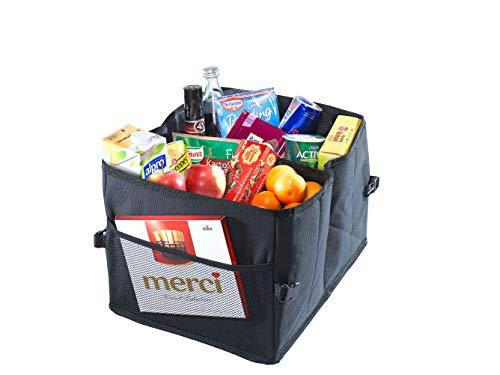CB Präsentwerbung GmbH Praktische Faltbox zum Verstauen - Klappbox Kofferraumbox Faltbox Organizer Autobox Tasche Auto Kofferraum Zubehör
