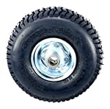Qty 1 Replacement Tire for Jungle Wheels Sulky 4.10 x 3.50-4 Wheel Assembly Multi-Purpose Lawn & Garden Tire