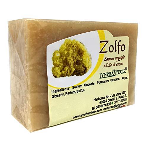 Schwefel Seife – 100% Natürliche Seife - 100 gr.
