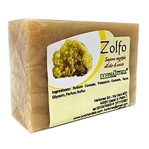Jabón de Azufre - Jabonería Artesanal - jabones elaborados en frío - No contienen colorantes, conservantes químicos, tensioactivos y parabenos - 100% natural