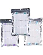 Yardwe 36 stuks toiletborstelaccessoires Wegwerp toiletreiniger Borstelvervangingskoppen Papierreinigingsdoekje voor badkamer Wit (citroen, tweekleurige citroen, lavendelstijl) Badkamer toiletborstel