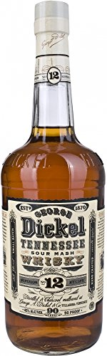 2. George Dickel Tennessee Whisky NO 12