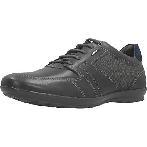 Geox Uomo Symbol A, Zapatos con Cordones Oxford Hombre