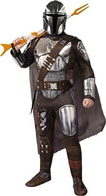STAR WARS Rubie's The Mandalorian Beskar Armor Adult Costume, As Shown, X-Large from Rubie's