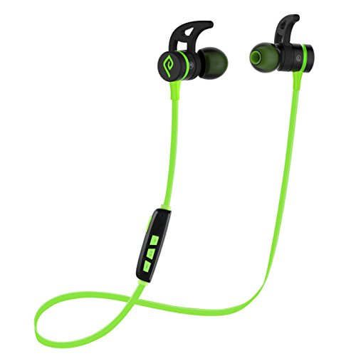 Bluetooth Headphones, Parasom A1 Magnetic V4.1 Sports In-Ear W/ Mic for iphone Android(Black/Green)