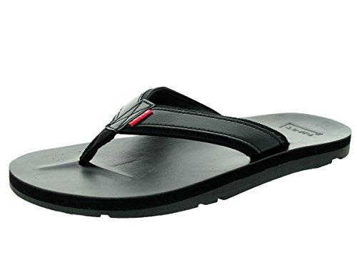 Levi's Mens Heartland Mix J2 Sandals in Black 12 M US