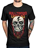 Hollywood Undead Day of The Dead Skull T-Shirt (XX-Large) Black
