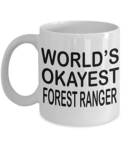 NA Lustige Waldläufer Kaffeebecher Welt Okayest Waldläufer Waldläufer Geschenk Geschenke für Waldläufer Männer Frauen