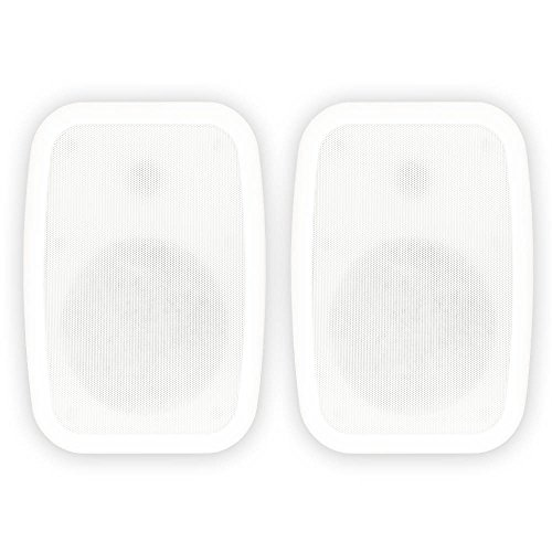 Learn More About Theater Solutions TS6ODW Indoor or Outdoor 6.5 Speakers Weatherproof Mountable Whi...