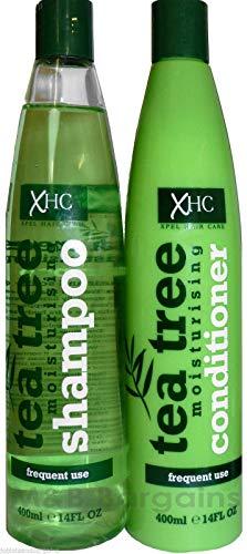 Xpel hair care - Xhc juego de arbol de te hidratante champu + acondicionador 400ml