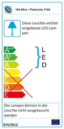 Wohnwand Anbauwand weiß, Fronten weiß Hochglanz, optional LED-Beleuchtung, Beleuchtung:Beleuchtung Weiß - 2