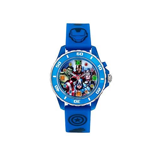 The Avengers Kinder Analog Quarz Uhr mit Gummi Armband AVG3506