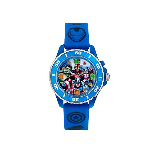 The Avengers Kinder Analog Quarz Uhr mit Gummi Armband AVG3506