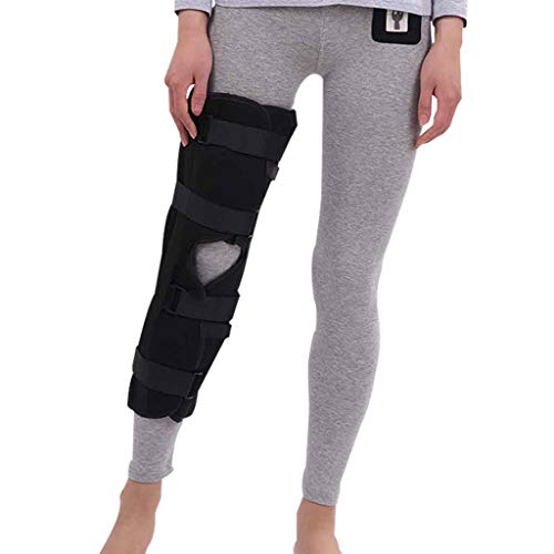 Kniebandage Unterstützung Orthese Donjoy Einstellbare Open Patella Stabilisator Knieschützer für Mann Frau Laufen Knie Schmerzen Arthritis Entlasten Knie Belastung Roscloud@