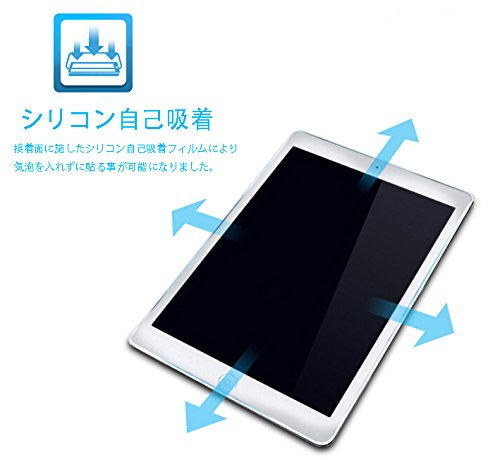 『SHINEZONE iPad Pro 9.7 / 新型 iPad 9.7 インチ 2017 用 強化ガラスフィルム 日本製素材 国産ガラス採用 0.3mm 超薄型』の3枚目の画像