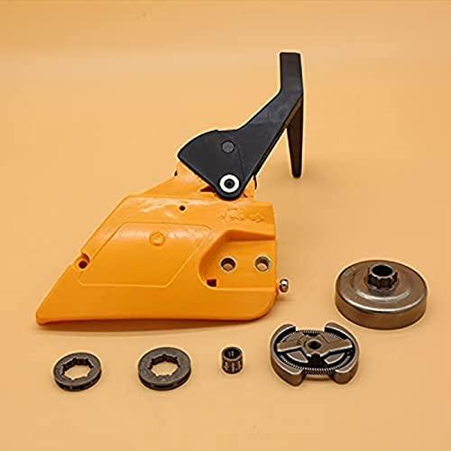 Mango de freno Cubierta de embrague Repuestos de repuesto de tambor de embrague para Partner 350351 para McCulloch MAC 335435440 Repuestos de motosierra 530014949 Eficiente