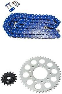 Blue Drive Chain and Sprockets Kit for Yаmаha Raptor 660R YFM660R 2001-2005