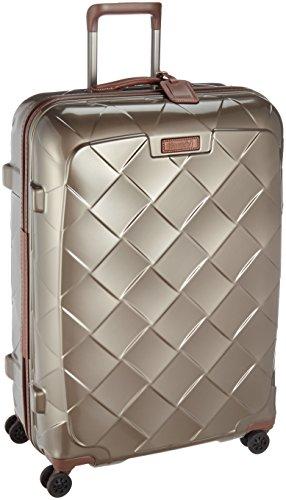 [ストラティック] スーツケース ジッパー レザー&モア 大型 グッドデザイン賞 保証付 100L 75 cm 4.36kg シャンパン