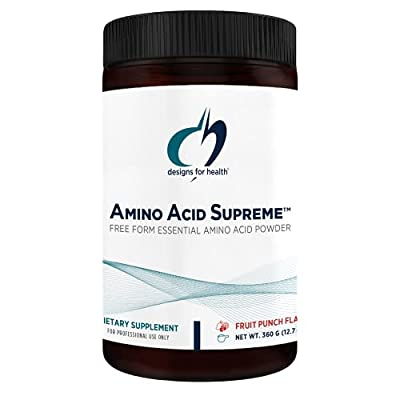 Designs for Health Complete Amino Acid Powder with BCAAs - Amino Acid Supreme (30 Servings / 210g)