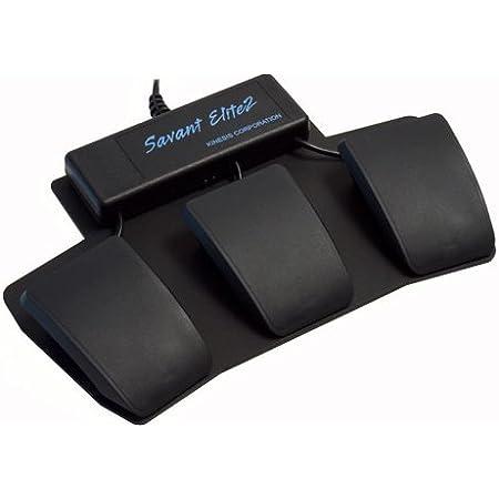 Kinesis Savant Elite2Triple Pedal[FP30A]【キネシス フットスイッチ トリプル】(3ペダル)