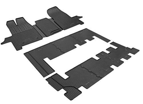 Fußmatten Gummifußmatten Automatten Passgenau Gummimatten Premium Qualität Fahrzeugspezifisch TX-0055-0