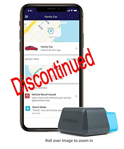 Automatic PRO AUT-350 Connected Car OBD II Adapter, Realtime Car Tracking via 3G and No Monthly...