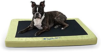 K&H Pet Products Comfy N' Dry Indoor/Outdoor Pet Bed Large Lime Green 36