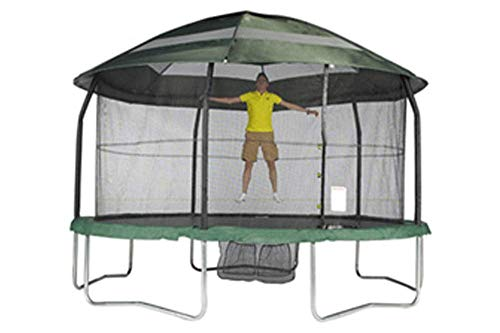 8ft x 11.5ft Oval Canopy - Trampoline not included