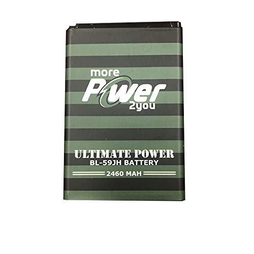 MorePower2You Cell Phone Replacement Battery for LG Optimus F3, VM720, M5659, V5870, BL-59JH