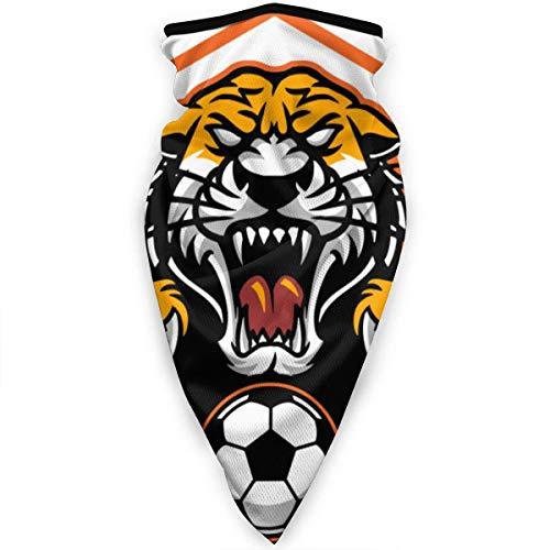 YudoHong Winddichte Gesichtsmaske Bandana Tiger Football Nackenschutz Winter Warmer Gesichtsmaske Sport Balaclava